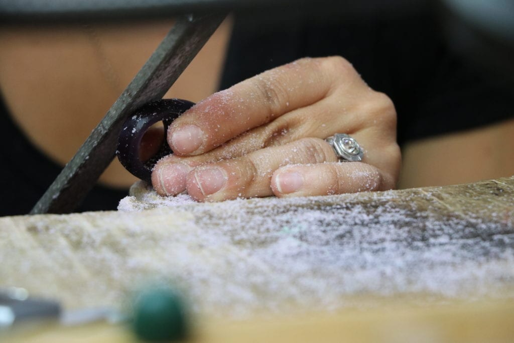 wax carving